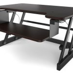 Gas spring sit to stand lyfe brands desk