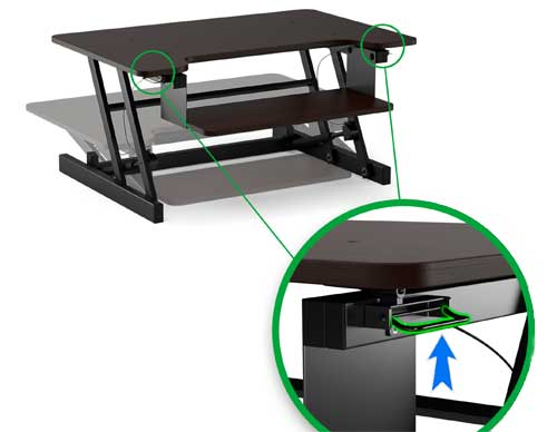 Lyfe Brands Sit-Stand Desk