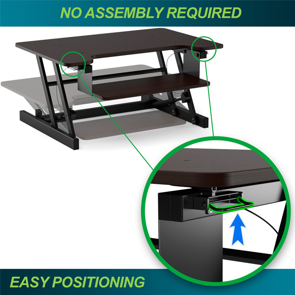 Easy Positioning Standing Desk